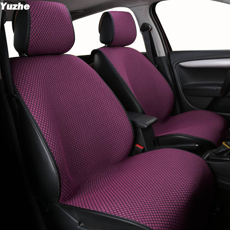 Yuzhe Universal Auto car seat cover For honda civic 2006-2011 cr-v accord 7 city FIT car accessories seat protector styling car seat cover car seat covers universal for honda accord 7 8 9 civic 5d cr v crv fit jazz city 2009 2008 2007 2006