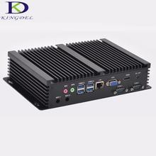 Micro PC Windows 10/Linux мини промышленный компьютер Intel Core i3 4010u Barebone HTPC HDMI HD 4 К + VGA RS232 com RJ45 LAN + WI-FI