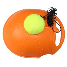 Sports Entertainment - Racquet Sports - Hot Single Tennis Trainer Tennis Training Tool Exercise Tennis Practice Trainer Baseboard Sparring Device
