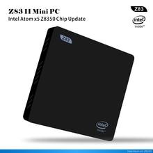 Windows 10 Mini pc intel Z8350 Z83II TV Box Bluetooth 4.0 2 GB 32 GB de windows original set top box Reproductor Multimedia de la computadora inteligente