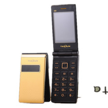 TKEXUN G9 Flip-telefon Dual Screen Kamera MP3 2,4 zoll Luxury Handy