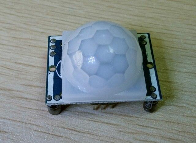 New HC-SR501 Adjust IR Pyroelectric Infrared PIR Motion Sensor Detector Module SG039-SZ