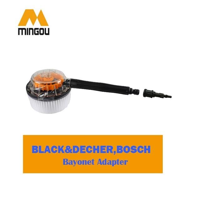 Acessórios de alta Pressão da Escova De Plástico Conectar adaptador fornecido (CW015-B)