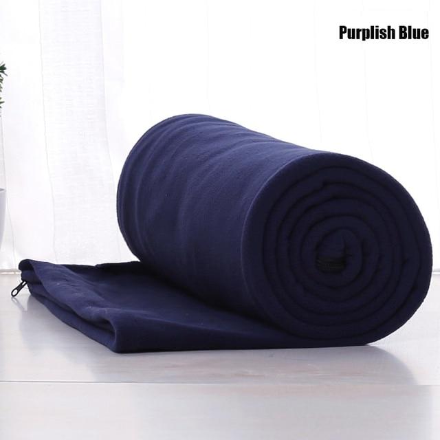 Fleece Sleeping Bag Portable For Camping 4