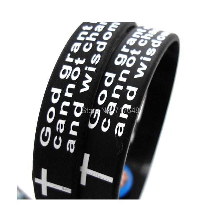 Bracelet plastique en anglais