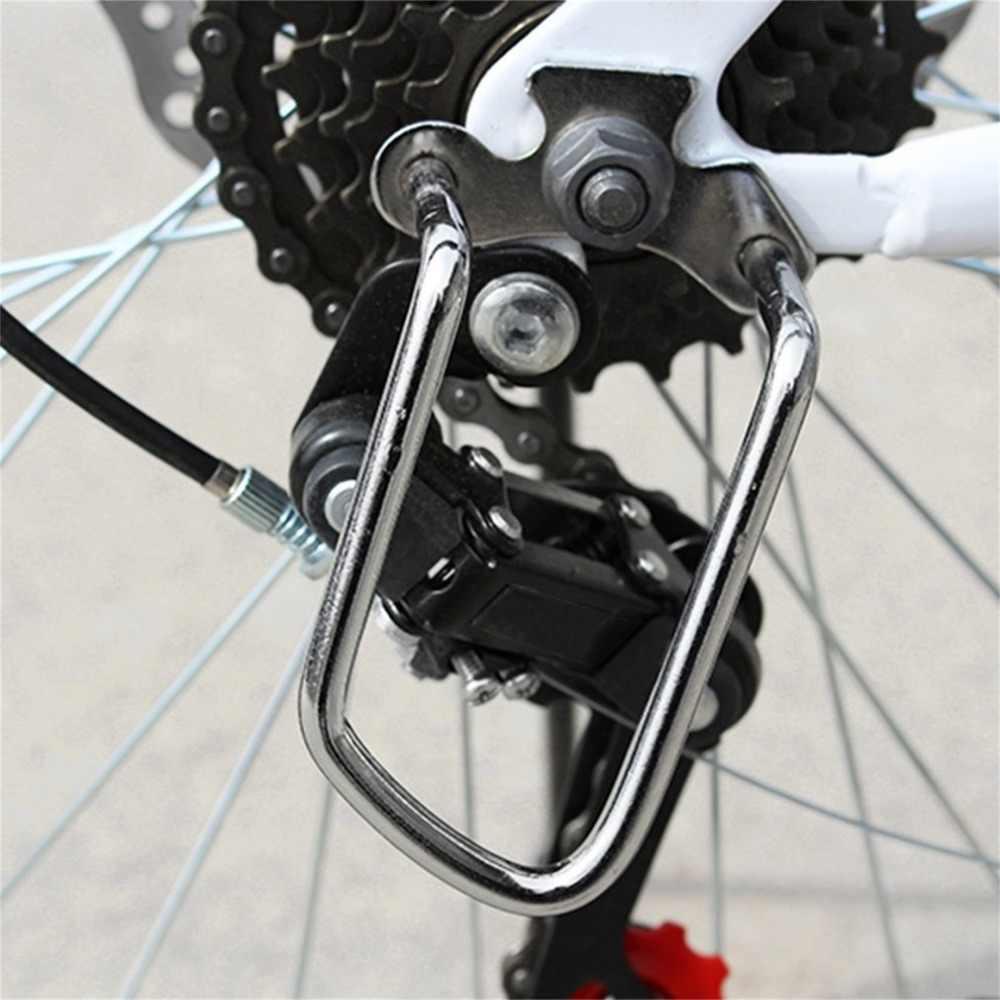2016 באיכות טובה מתכוונן עמיד רכיבה על אופניים אופני אופניים אחורי הילוכים שרשרת להישאר משמר ציוד מגן חדש סיטונאי