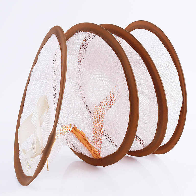 Underwear Bra Laundry Sweater Hanging Basket Windproof Folding Multi-Layer Drying Rack Mesh Clothes Dryer Net