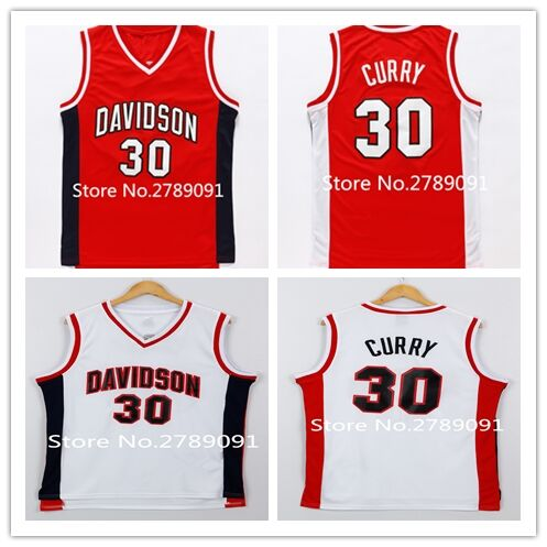 sale retailer c7bd5 fbbb2 #30 Stephen Curry Davidson College Basketball Jersey Stitched US Size S  XXL-in Basketball Jerseys from Sports & Entertainment on Aliexpress.com |  ...