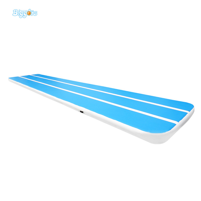8m Gymnastics air track Fitness exercise gym air tumbling mat training inflatable track Floor Home Gymnastic high quality gymnastics exercise workout flooring gym mat 2 4mx1 2mx3cm