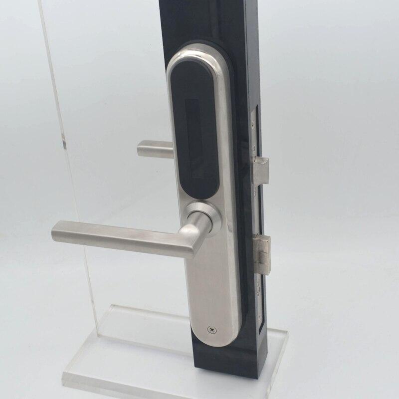 European style Electronic RFID Door Lock Swipe Card Unlock fit 30mm thickness door - 2