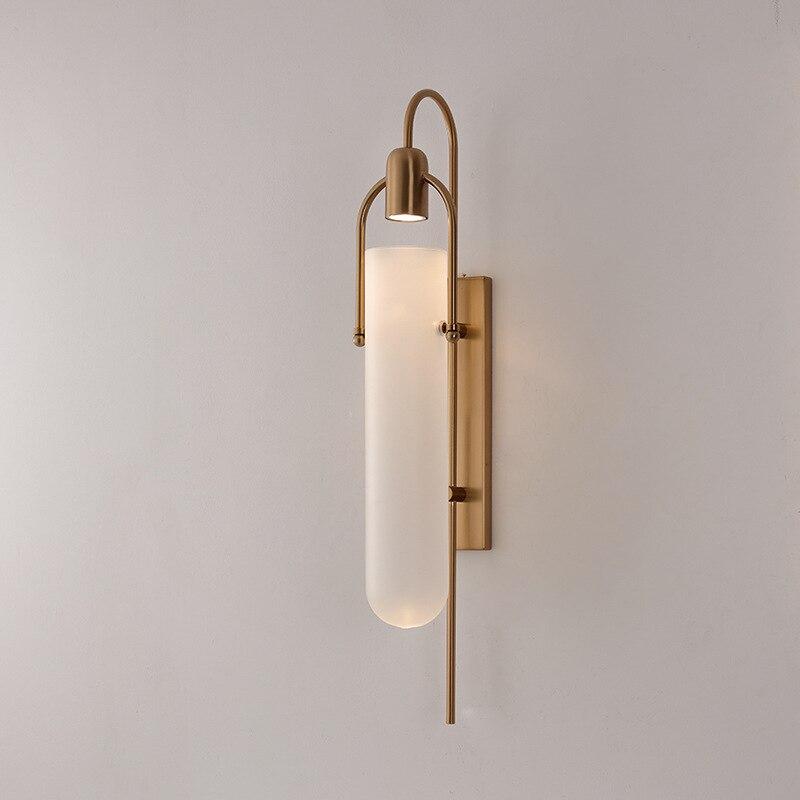 Lampe de mur LED moderne/noire