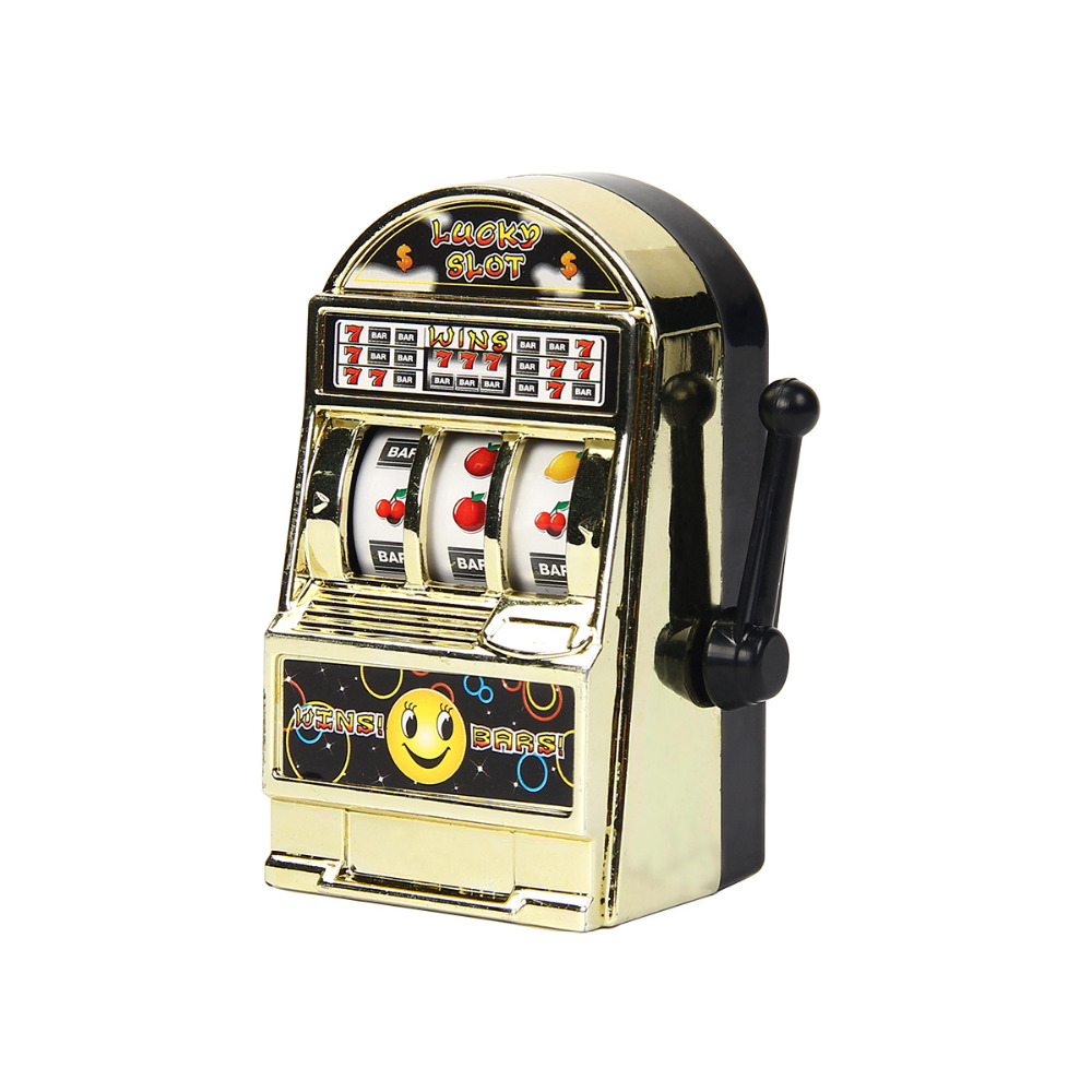Mini Pocket Lucky Fruit Slot Machine Toy Lucky Jackpot Gadget Anti-stress Funny Toys