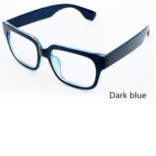 New glasses frame TR-90 flat mirror retro large frame men and women glasses недорого