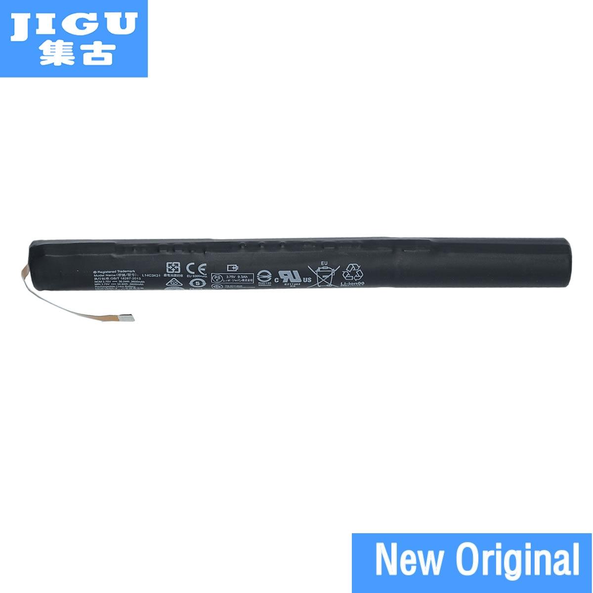 JIGU Original L14C3K31 battery for lenovo YOGA Tablet 2 YT2-1050F YT2-1051F L14d3k31 L14D2K31 batteria batterie AKKU 3.75V original new 45n1097 battery for lenovo thinkpad tablet 2 batteria batteries 3 7v 8 12ah 30wh
