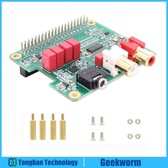 US $30 99 |Raspberry Pi 3 B+/3B PCM5122 Audio Card DAC Expansion Board HIFI  Module Support OSMC, Max2Play, RuneAudio, Volumio, Moode-in Demo Board
