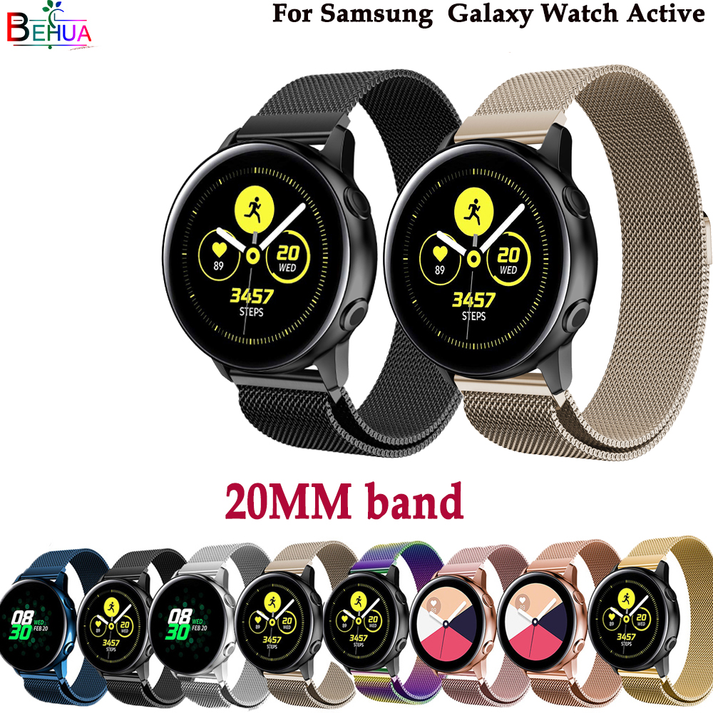 High Quality Milanese Strap For Samsung Galaxy Watch Active Watch Band Fashion Wristband For Samsung Gear S2/Galaxy 42mm Watch