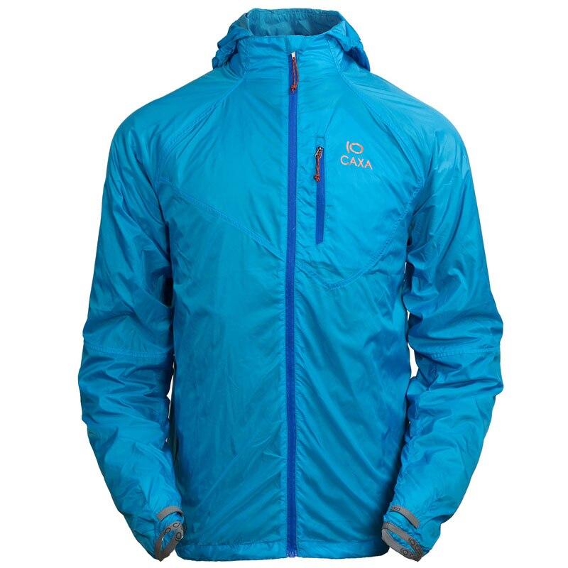 ФОТО Outdoor Running Rain Jacket camping  Man Windbreaker Quick Dry Fishing Anti-UV Clothing Climbing Ultra-thin Skin Coat Sunscreen