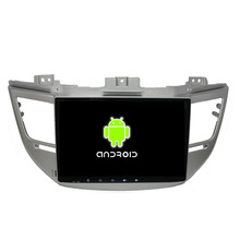 10.1 «Quad Core 1024*600 Android 5.1.1 Автомобиля DVD GPS Подходит для HYUNDAI TUCSON IX35 2015 2016-GPS Радионавигации