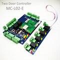 Высокое качество Wiegand TCP/IP две двери контроля доступа  2 Панель управления доступом к двери панель управления + Сигнализация Плата расширения...