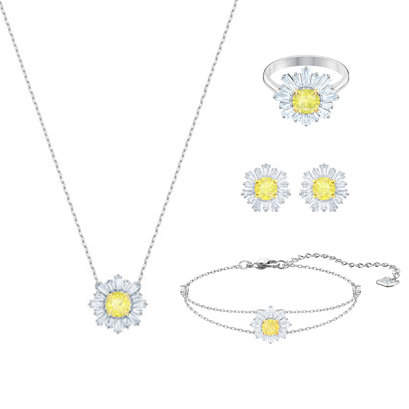 1:1 High-Quality Sunflower-Jewelry-Joints Original Jewels 100%Sterling-Silver Service