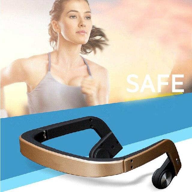 2016 Nova venda quente Do Bluetooth Fones De Ouvido Esporte fone de Ouvido Bluetooth Sem Fio Fones De Ouvido de Condução Óssea