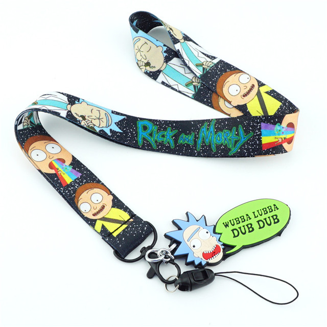 Rick and Morty Lanyard with ID Card Holder 4