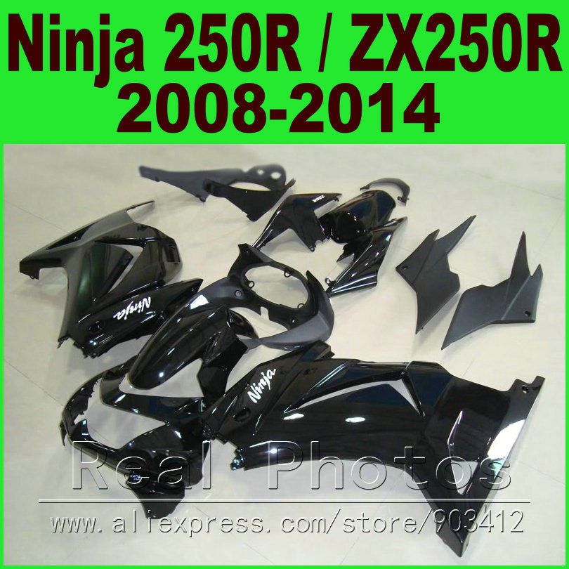 All black DIY for Kawasaki Ninja 250r Fairings bod kit 2008 - 2014 EX250 2009 2010 2011 2012 ZX 250 fairing kits parts R4I5 3pcs battery charger 7 4v rechargeable li ion battery for olympus e300 e500 e3 e5 e520 e510