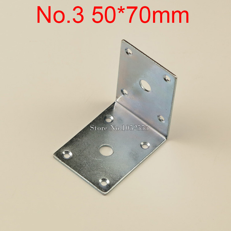 10PCS 50*70mm furniture metal corners angle bracket L shape frame board support fastening fittings K270 10 pcs lot silver color metal corner brace right angle l shape bracket 20mm x 20mm home office furniture decoration accessories