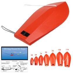 Wędkarska deska do trollingu Planer deska do nurkowania typu K wędkarstwo morskie łódź rybacka sztuczna przynęta Trolling Board