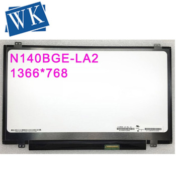Free shipping 14.0''inch N140BGE-LA2 LP140WHU TLB1 N140BGE L42 L43 LP140WH2 TLA2 laptop lcd screen 1366*768 LVDS 40pins