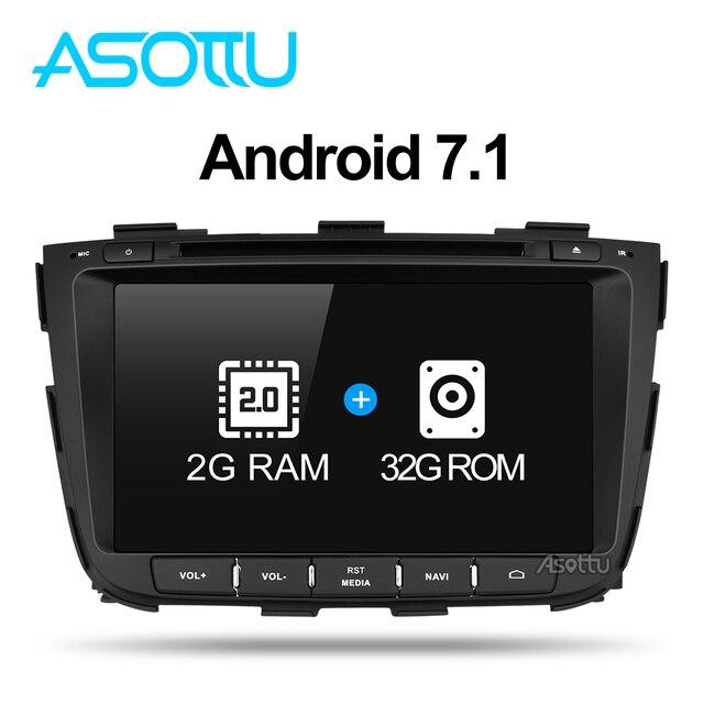 Asottu Z13SLT8060 Android 7.1 Автомобильный GPS для Kia Sorento 2013 2014 DVD Автомобильный GPS dvd-плеер 2 DIN стерео плеер GPS naviigation