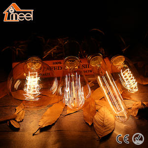 Edison-Bulb Spiral-Filament Incandescent-Light G125 G95 Retro Vintage G80 T45 A19 ST64