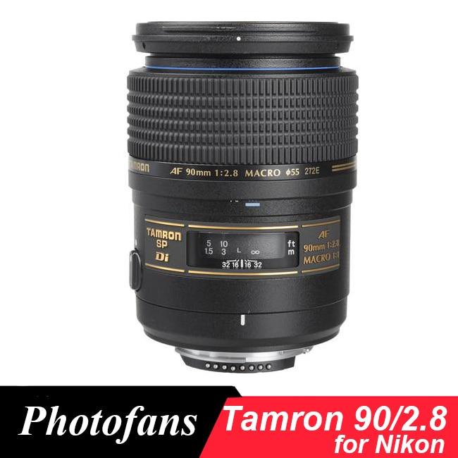 Tamron 90mm f/2.8 Lens Tamron SP AF Di Macro 90 /2.8 Lens for Nikon объектив tamron sony minolta af 55 200 mm f 4 5 6 di ii ld macro