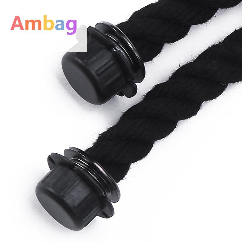 1 par de cânhamo corda No. : Alças Fittings, ambag