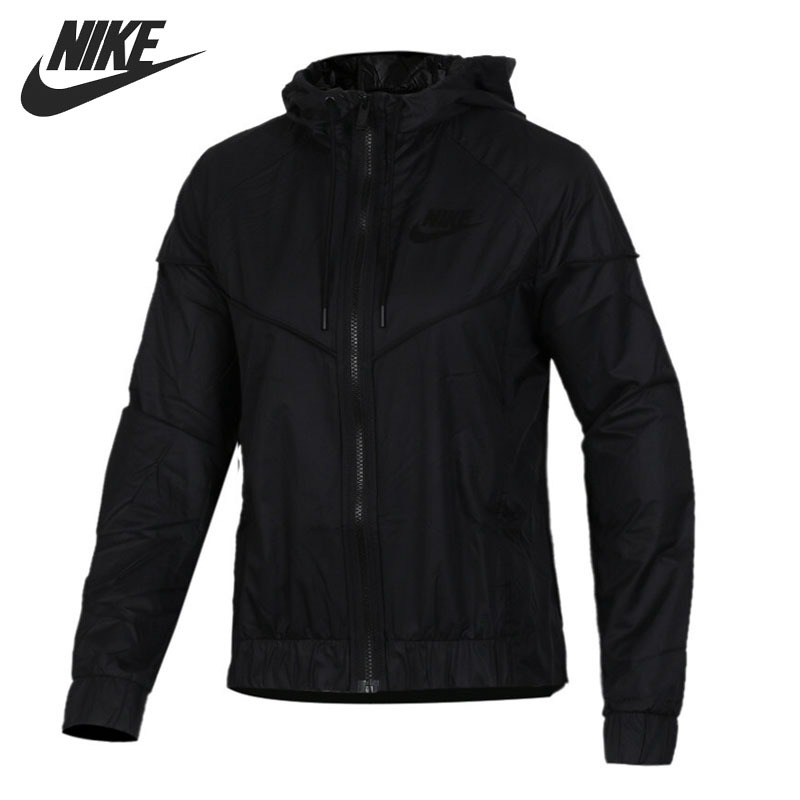 Original New Arrival 2018 NIKE NSW WR JKT Women's Jacket Hooded Sportswear original nike men s black knitted jacket hooded sportswear