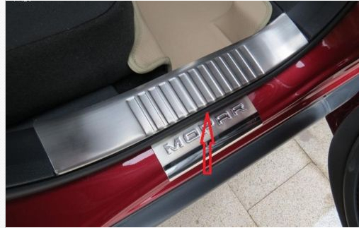 Stainless steel inside door sill scuff plate for jeep compass 2011 2012 2013 stainless steel led door sill scuff plate for toyota land crusier 200 lc200 fj200 2008 2009 2010 2011