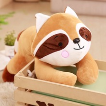 цены на Plush toys Cartoon raccoon animal  doll Cute raccoon baby toy gift for Christmas  в интернет-магазинах
