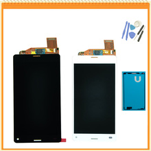 4.6inch For Sony for Xperia Z3 compact LCD Display Z3 mini LCD D5803 D5833 touch screen digitizer Assembly + Adhesive + Tools