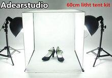 60 см Studio комплект фото box Studio сумки обувь камеры свет фотостудия палатка adearstudio cd50