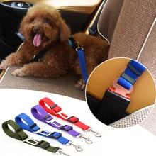 Car Pet Dog Seat Belt Adjustable Puppy Vehicle Seatbelt Harness Adjuster Cat Leash Safety Dog Supplies недорого
