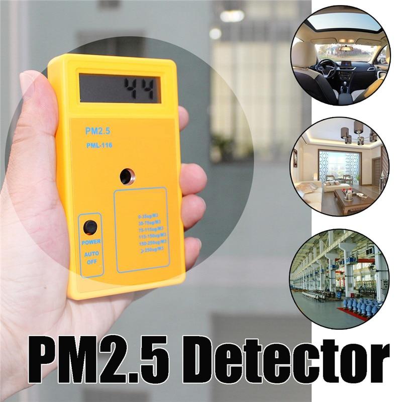 все цены на Particle Detector PM2.5 Haze Dust Air Quality Monitoring Analyzer Meter Sensor Tester Protection Sensitive Accurate онлайн