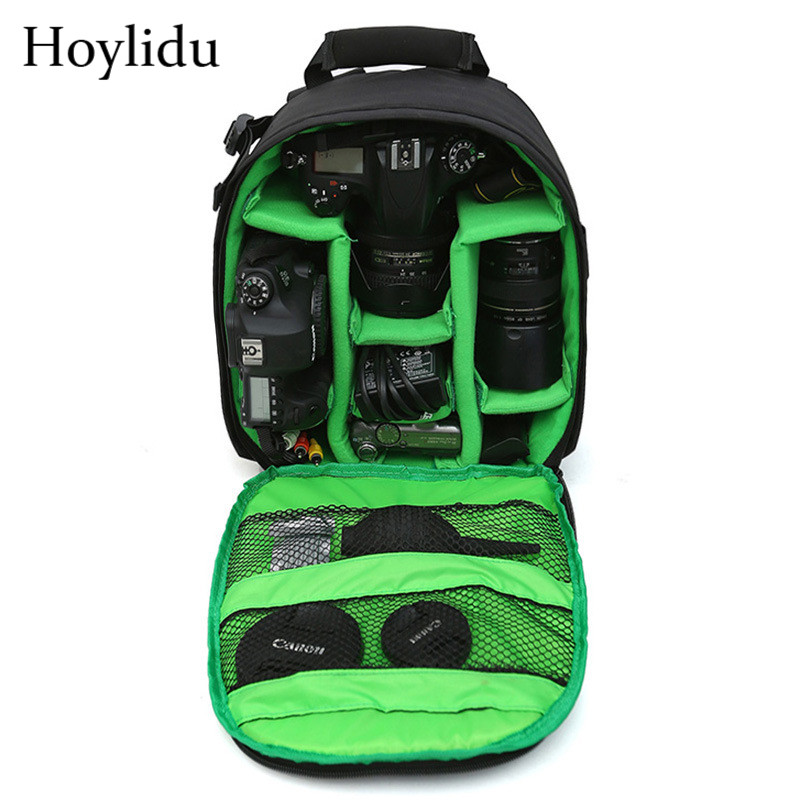 Symbol Of The Brand Andoer Dslr Camera Bag Outdoor Wear-resisting Video Backpack Water-resistant Multi-functional Photograph Camera Bags With Tripod Easy And Simple To Handle Accessories & Parts