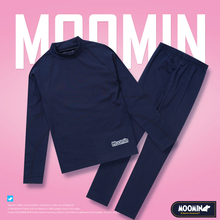 Moomin 2018 new arrival quick drying Long Johns soft set chi