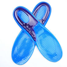 Worker Boots Comfort Arch Support Massaging Gel Silicon Soft Sport Insole Shock Absorption Men L