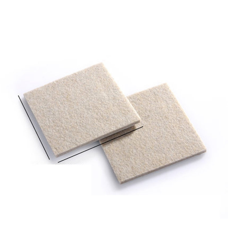 85*85mm 2x Floor Furniture Protection Abrasion Shock Wear Proof Cushion Legs Felt Pads Protector Gasket Brown Beige sisjuly brown 85