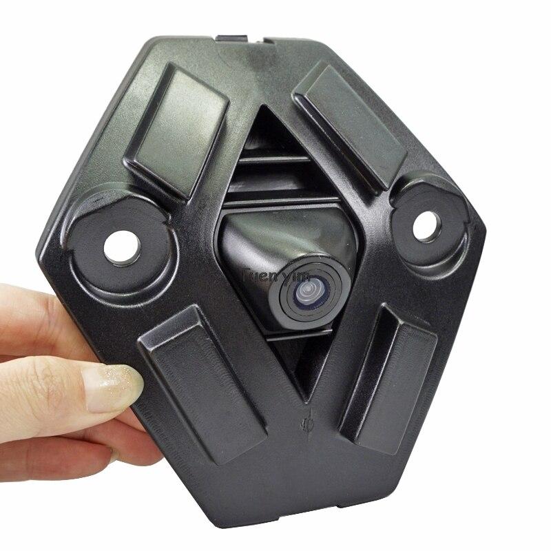 Câmera da grade dianteira do carro para renault koleos 14/15 ano frente estacionamento câmera visão noturna à prova dwide água grande angular