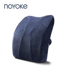 NOYOKE Memory Foam Back Cushion Office Waist Spine Protection Breathable Pad