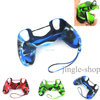 10pcs/Lot Soft Silicone Rubber Gel Skin Protection Case Cover for PS4 PS 4 Controller
