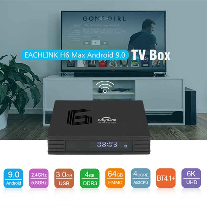 Home Audio & Video Tv Receivers Smart H6 Mini Smart Tv Box Allwinner H6 Android 7.1 Android Tv Set Top Box 3gb 32gb 2.4g Wifi 100mbps Bt4.1 6k H.265 Box Tv