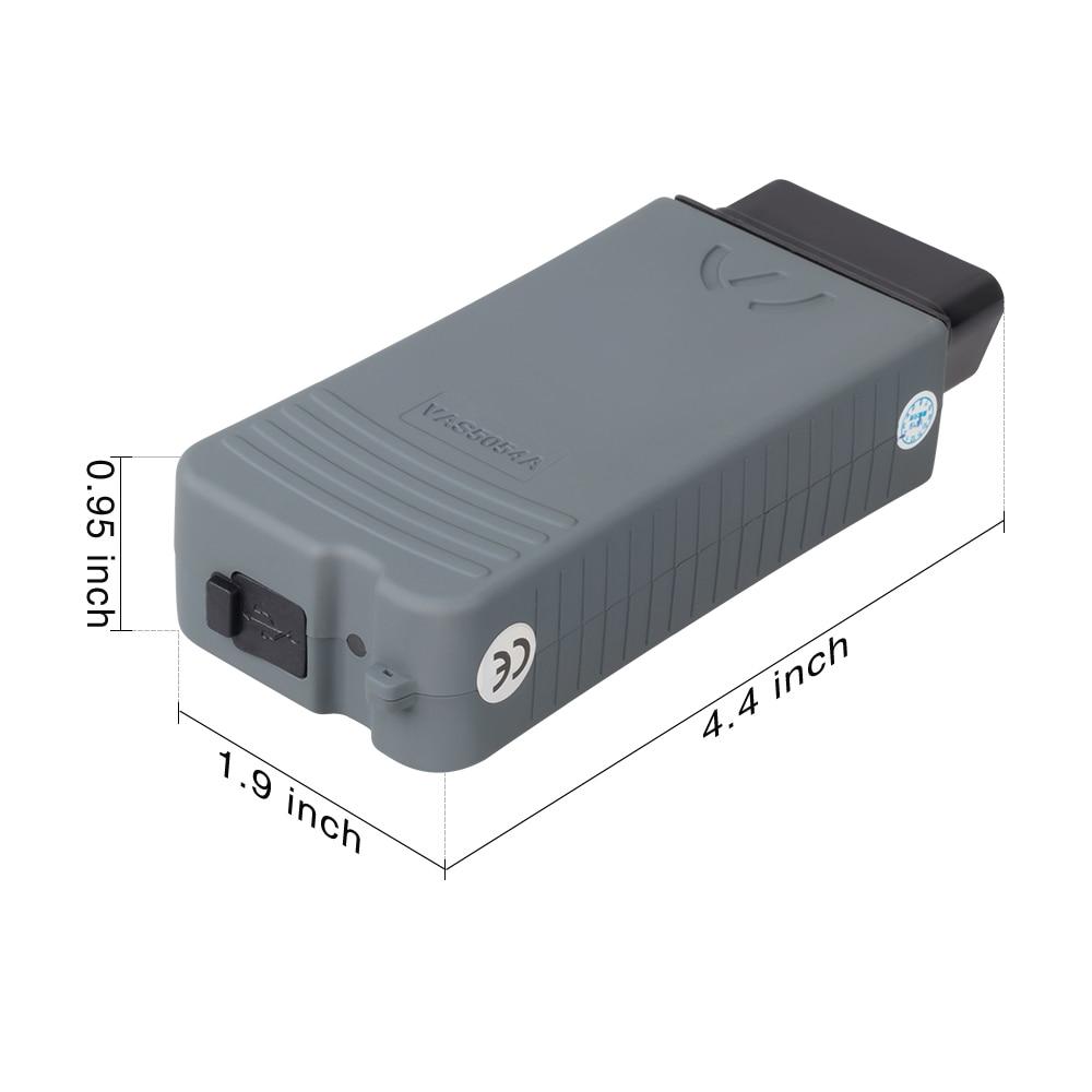 Image 5 - VAS5054a ODIS V5.1.3 Original OKI Chip AM2300 4.0 Bluetooth keygen Diagnostic Tool VAS5054 OBDII Auto Scanner UDS Protocol V5.13 on